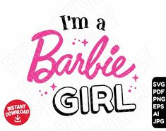 Barbie Theme, Barbie Birthday, Barbie Party, Barbie Website, Paper Puppets, Barbie Collection, Printable Stickers, Print And Cut, Svg Cuts