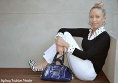 Sydney Fashion Hunter: The Wednesday Pants #24 - Polks Dots & Chevron