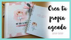 TUTORIAL AGENDA SCRAPBOOK. [2019 - 2020] ❤️Como hacer una agenda FÁCIL Album, Baby Scrapbook, Smash Book, Words, Creative, Scrapbooking Ideas, Mary, Memory Books, Book Design