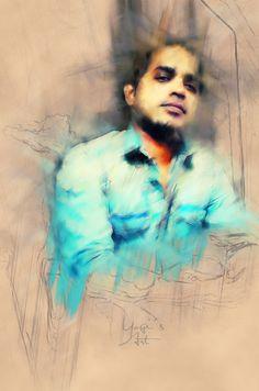 Yogi's Art (Yogi manchekar) #graphicdesign #yogi #modernart #yogimacho #creative #art #photoshop #yogimanchekar #yogimacho #art