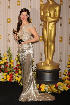 Best Actress Winners in Their Gowns - Oscars Fashion Through the Years - ELLE
