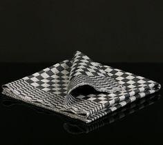 3 Grubentuch in schwarz-weiss kariert Küchenhandtuch | eBay