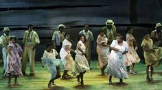 The women of Porgy and Bess dance (with Audra McDonald).