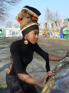 Turban-Hat for sale on http://africanpulse.eu/_shop/