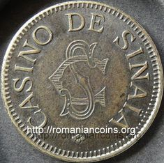 jeton - 5 Casino de Sinaia Coin Collecting, Monet, Character Art, Coins, Personalized Items, My Love, How To Make, Collection, Home