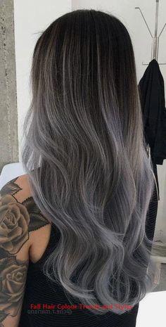Ash Grey Hair, Silver Ombre Hair, Brown Ombre Hair, Grey Wig, Ombre Hair Color, Hair Color Balayage, Cool Hair Color, Hair Highlights, Gray Hair Ombre