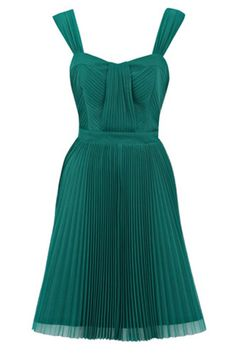 LOVE this emerald green dress too!