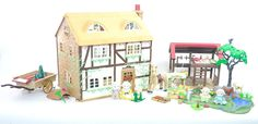 *fistuff* Sylvanian Families Decorated Highfields Farm House, Barn + HUGE LOT!    eBay