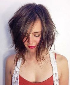 Lovely Shaggy Bob Hairstyles 2018 for Women With Fine Hair