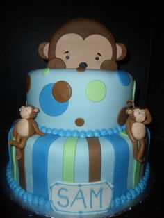 boy baby shower cakes - Bing Images