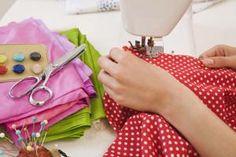 Stiching the fabric