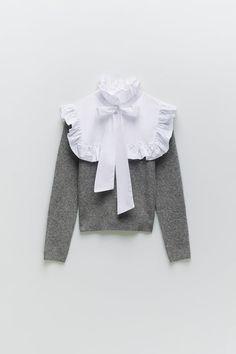 Spring Fashion, Autumn Fashion, Cool Street Fashion, Pullover, Design Development, Zara Women, High Collar, Kids Wear, Long Sleeve Sweater