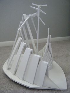 foamcore sculptures - Google Search