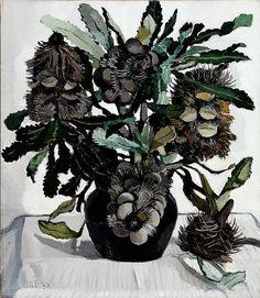 Banksia cobs, (1933) by Margaret Preston  (Australian Art)