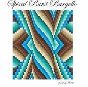 Spiral Burst Bargello Quilt Top - via @Craftsy