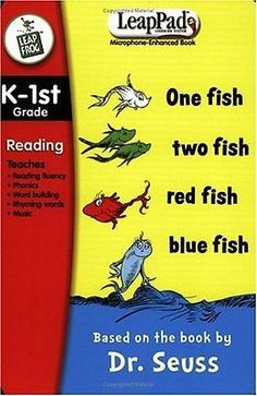 Game Cartridges and Game Books 177916: Leappad: K-1St Reading - Dr. Seuss One Fish, Two Fish... -> BUY IT NOW ONLY: $33.27 on eBay!