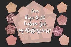DLOLLEYS HELP: Free Rose Gold Texture Set