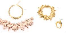 The Bill Skinner Studio Autumn / Winter 2015 Lookbook Fall Winter, Autumn, Wild Horses, Studio, Bracelets, Gold, Jewelry, Fashion, Moda
