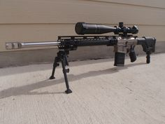 Mega Ma-Ten AR10 .308   What a beauty...got to get a 308/7.62 similar to mine
