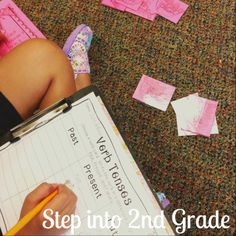 Step into 2nd Grade with Mrs. Lemons: Station Work!