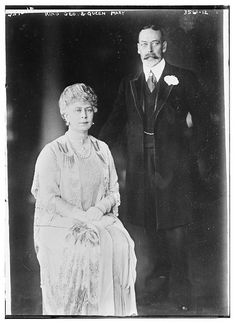 King Geo and Queen Mary  (LOC) by The Library of Congress, via Flickr