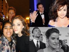 If your going to get photo bombed, who better than Tom Hiddleston to do it?!?