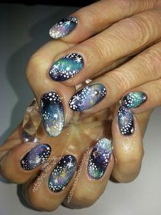 Bling 2 Galaxy Nails