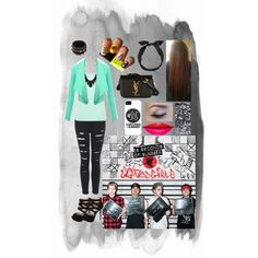A fashion look from November 2014 featuring off-shoulder tops, red tank and distressed skinny jeans. Browse and shop related looks. Bad Girls, Cool Girl, Shoe Bag, Stuff To Buy, Collection, Design, Women, Fashion, Moda