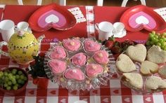 A Valentine's Day tea party for kids