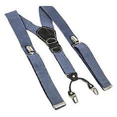 Traky Suspenders New sivé