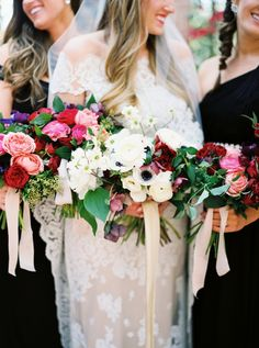 A Fresh Take on An Industrial Wedding With Serious Pops of Color