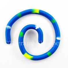 """Bendeez - bend this 15"""" rubbery band into infinite shapes and designs. This sensory toy is a silent fidget toy."""