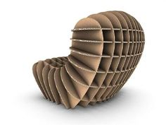 Cardboard Chair by David Graas