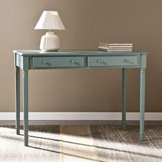 Fingerhut - Southern Enterprises 2-Drawer Writing Desk