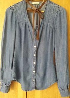 Kup mój przedmiot na #vintedpl http://www.vinted.pl/damska-odziez/inne-ubrania/10416571-jeansowa-koszula-dkny