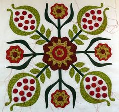 """""""The pomegranate was often referred to as the 'love apple'. Jewish history shows that it was a symbol of fertility.   Sue Garman"""