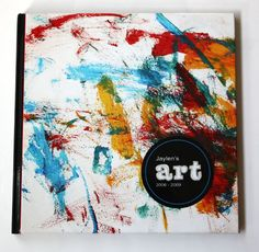 Kids' art book by Blurb!