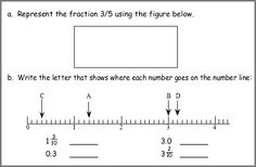 math worksheet : ordering decimals and fractions on a number line worksheets  : Placing Decimals On A Number Line Worksheet