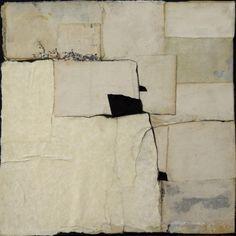 "Black Mirror   Teri Dryden   12 x 12 x 1 3/8""   collage   teridryden.com"