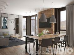 Jadalnia w stylu loftowym #loft #salon #wnętrza #styl industrialny