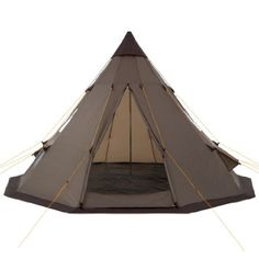 C&Feuer® - Teepee Tent Tipi brown Amazon.co.uk Toys  sc 1 st  Pinterest & Teepee Tent Tipi Brown Hydrostatic Head Waterproof Wigwam Pyramid ...