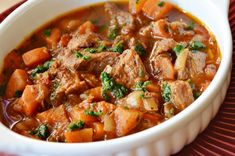 Meat Recipes, Slow Cooker Recipes, Crockpot, Pots, Hungarian Recipes, Hungarian Food, Stew, Curry, Food And Drink