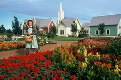 A picture from Avonlea Village on FB.