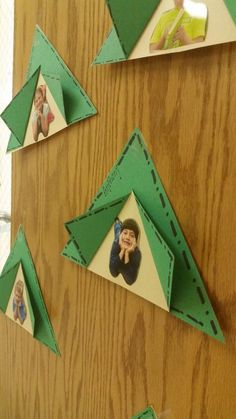 Happy camper picture craft- this is so cute and perfect for a camping classroom theme #toddlerclassroom