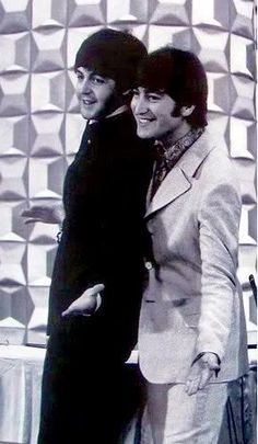 """But as for me, I still remember how it was before, and I am holding back the tears no more. I love you."" - Paul on John in his song ""Here Today"""