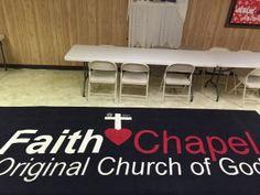 Faith Chapel Church Logo Mat