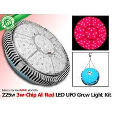 Check out our hottest deals ! 225 Watt Advanced Spectrum MAX 3w-Chip Modular ALL RED LED Grow Light U.F.O.