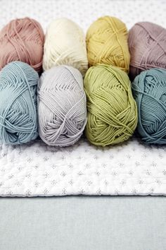 Beautiful Yarns by Debbie Bliss - I am using this yarn (baby cashmerino) to crochet my first babie beanie and I will pin a picture of the finished project once I am done. - Sharon Ruth