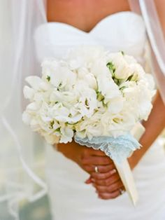 Bouquet with handkerchief from Lisa Lefkowitz