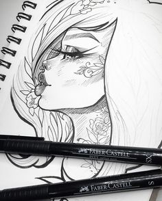 """13.2k Likes, 58 Comments - Gwen D'Arcy  (@graphicartery) on Instagram: """"Doodles still keeping me sane ✍✨ #wip #graphicartery #art #artist #artwork #sketch #drawing…"""""""
